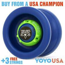 [WINTER SALE] YoYoFactory Velocity Yo-Yo Blue + FREE STRING