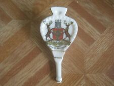 W&R Carlton Crested Ware China Bellows