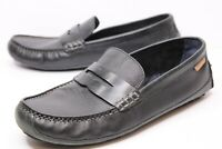 COLE HAAN Mens C27339 Grand.OS Black Leather Penny Loafers Slip On Shoes Sz 10M