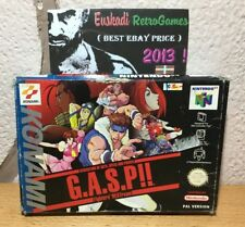 Nintendo 64 N64 GASP - G.A.S.P PAL  (SIN MANUAL)