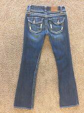 BKE ~ ADDISON BOOT CUT ~ Womens Flap Pocket Size 26 R Jeans Pants