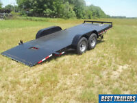 2019 hawke 20 ft 15k New 7 x 20 power tilt equipment carhauler bobcat trailer HD