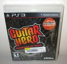 GUITAR HERO Warriors Of Rock SEALED NEW PlayStation 3 PS3 w/Soundgarden Tele CD