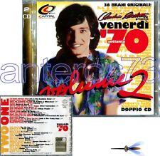 "CLAUDIO CECCHETTO ""VENERDI 70 VOL.2"" RARO 2 CD DANCE FUNK"