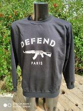 Sweat Hoodie PullCrewNeck DefenD Paris Milice Hooligan France 🇫🇷 XL Neuf Brand