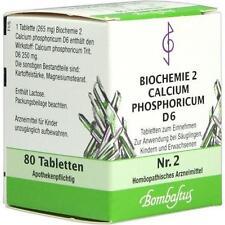 BIOCHEMIE 2 Calcium phosphoricum D 6 Tabletten 80St Tabletten PZN 4325130