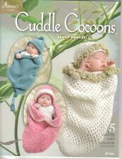 Cuddle Cocoons  ~ Crochet Book  ~ Brand New ~  Annie's Book