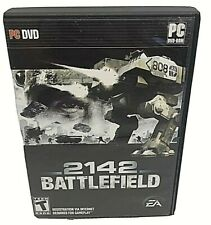 EA Battlefield 2142 - PC DVD Windows Complete w/Manual & Key Code VG Free S&H
