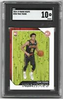 2018-19 Panini Hoops Trae Young Card RC #250 Rookie SCG Gem Mint 10