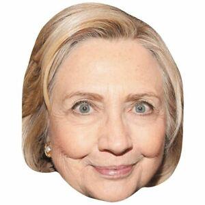 Hillary Clinton (Earring) Maske aus Karton