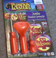 Halloween-Jumbo Pumpkin Carving Kit-NEW-Combine for Free ship