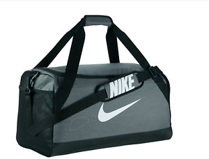 Nike Brasilia Medium Training Duffel Duffle bag Gray grey