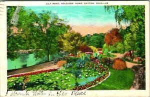 C51-7215, LILY POND, DAYTON, OHIO. Post Card.