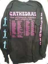 New listing Cathedral Ethereal Mirror Tour vintage metal band shirt 1993 size Xl long sleeve