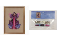 Nora Corbett Mirabilia Cross Stitch PATTERN & EMBELLISH PK Monkshood NC249