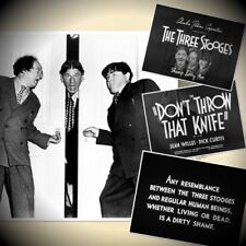 3 STOOGES in  DONT THROW THAT KNIFE 35MM SHORT ENG