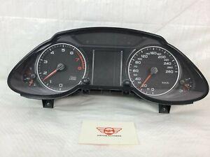 2010-2012 Audi Q5 Speedometer Gauges Instrument Cluster 8R0920931A 2.0L