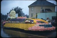 Portland Oregon George Washington Float 1950s 35mm Slide Red Border Kodachrome