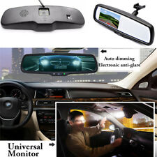 "Car Rear View Mirror Built in 4.3"" TFT LCD Monitor + Special Bracket 2CH Video"