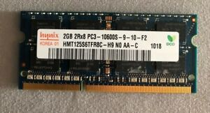 HYNIX 2GB 2Rx8 PC3-12800 laptop SODIMM RAM SO-DIMM
