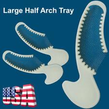 103050pcs Dental Impression Triple Trays Sideless Large Half Arch Tray Bites