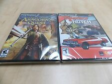 Lord of the Rings Aragorn's Quest, Starsky & and Hutch **PS2 LOT NEW SEALED**