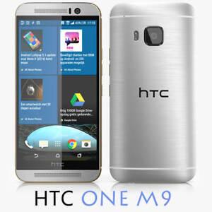 HTC ONE M9 - 32GB - Silver - Mobile Phone - Brand New - Sealed - BNIB
