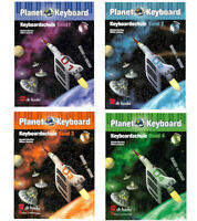 "Planet Keyboard - Keyboardschule mit CD + 1 Bleistift ""Musikmotiv"""