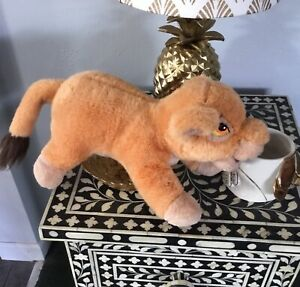 VINTAGE CANASA WALT DISNEY LION KING KIARA SIMBAS PRIDE PLUSH STUFFED FIGURE TOY