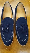 NWB $850 O'KEEFFE GOODYEAR CONST 12 TASSELS MOC TOE LEATHER SOLES @S CROCKETT