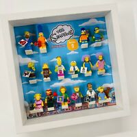 Display Frame for Lego The Simpsons Series 2 71009 minifigures no figures 27cm