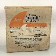 Airco 4043 364 1 Lb Roll Welding Wire Aluminum Spool Gun Aircomatic Mig Tig