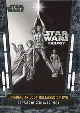 Star Wars 40th Anniversary Base Card #88 Original Trilogy Released on DVD