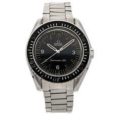 Omega vintage seamaster 300m Pulsera De Acero Inoxidable Auto Reloj para hombre 165.024