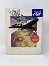 "Microsoft Flight Simulator 4.0 Apple Macintosh Mac Big Box 3.5"" Disk Complete"