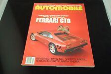 AUTO MOBILE FERRARI GTO JULY 1987 MAGAZINE 9248-1 [BOX E] #629
