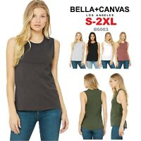 Bella + Canvas Women's Flowy Scoop Muscle Tank Top B6003