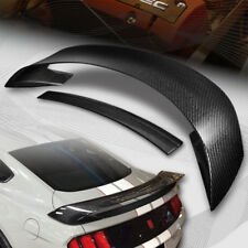 For 2015-2018 Ford Mustang GT350R Style Real Carbon Fiber Rear Trunk Spoiler