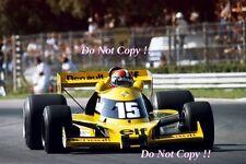 Jean-Pierre JABOUILLE RENAULT RS01 ITALIANO Grand Prix 1977 fotografia 2