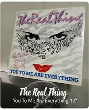 """THE REAL THING - YOU TO ME ARE EVERYTHING 12""""  Vinyl Record PLAKA"""