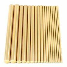 Assorted Brass Solid Round Rod Lathe Bar Stock Kit 18 Pcs 2mm 8mm Length 100mm
