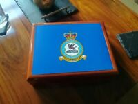 RAF Squadrons  RAF Premium Military Medals and Memorabilia Box, Great Gift