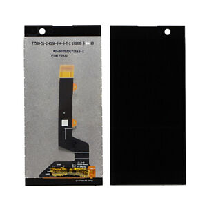 BLACK LCD Panel Screen Digitizer Full Complete Replacement For Sony Xperia XA2