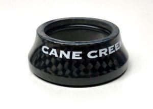 "Cane Creek carbon headset cap, 1 1/8"" diameter, 15mm high. NEW"