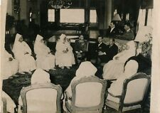 MAROC 1955 - Ministre July et Membres du Maghzen Chérifien - PR 210