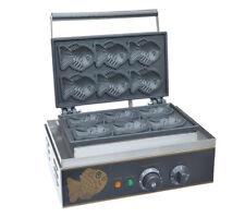 FY-112 Electric Fish Type Waffle Machine Japanese Taiyaki Maker Fryer 220V