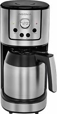 Insignia- 10-Cup Coffee Maker - Stainless Steel