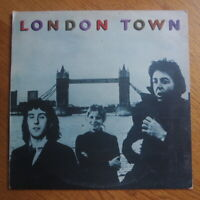 "Wings ""London Town"" Vinyl LP (Turkey, 1978) Paul McCartney Beatles"