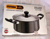 Hawkins Futura L33 Hard Anodised Cook and Serve Stewpot 2.25-Liter    IM0497