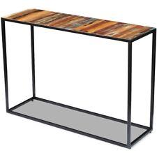 Vintage Industrial Console Table Hallway Rustic Sideboard Metal Side Furniture